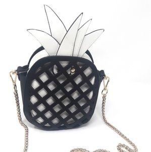Zara Pineapple Crossbody  handbag